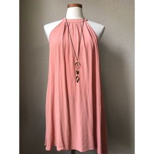 Blush Pink Long Blouse